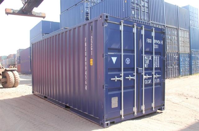 Применение морских контейнеров